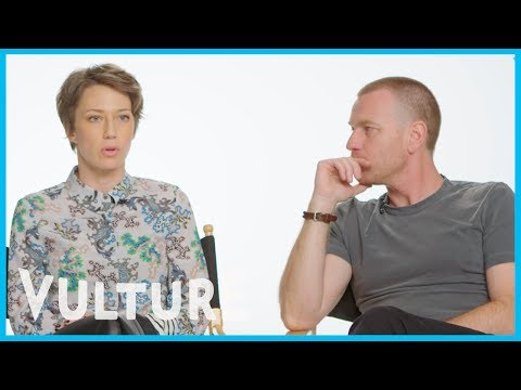 Carrie Coon Tells Ewan McGregor She Wasn't Allowed to Act As a Kid