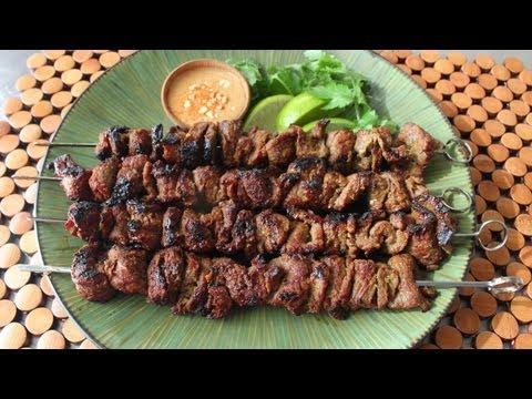Beef Satay Recipe – Thai-Style Grilled Beef Skewers