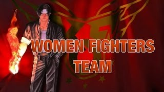the king of fighters 96 new women fighters team completo