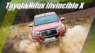 2019 Toyota Hilux Invincible X UK Limited Edition Overview