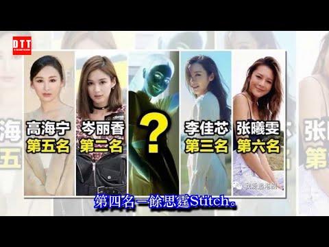 港媒選出TVB十大現役美女排名,純粹以」外貌「比較 ✔
