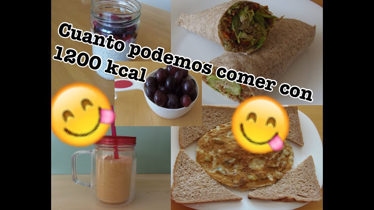 dieta de 1200 calorias con recetas