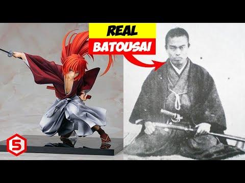 Samurai X (Kenshin Himura) The Battousai Is Real! Top 10 Greatest Samurai Warriors