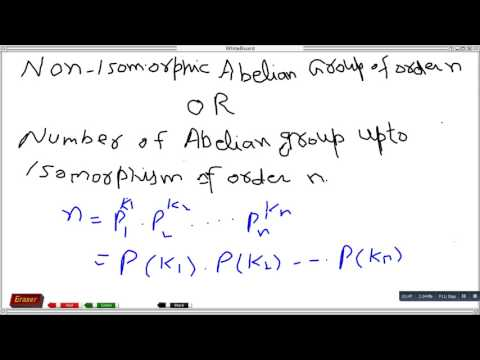 Non isomorphic Abelian group of order 8,21,48