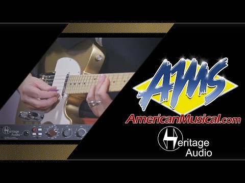 Heritage Audio Elite Product Demo - American Musical Supply