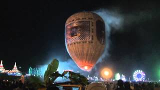 Firework Balloon disaster in Myanmar! || Viral Video UK