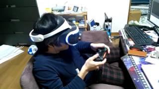 PSVRをやってる人をひたすら映した動画です! プレイしてるゲームはRush...