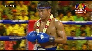 Proeung Socheat vs Pornpeun(thai), Khmer Boxing Bayon 21 2018, Kun Khmer vs Muay Thai