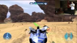 Star Wars Kinect Pod Racing Playthrough 1