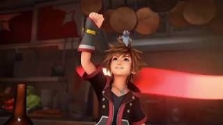 New Kingdom Hearts III footage from Tokyo Game Show!