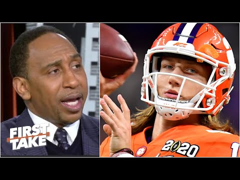 Should Trevor Lawrence dodge the Jets if  they get the No. 1 pick? | First Take