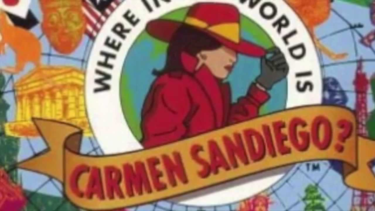 Where In The World Is Carmen Sandiego 1991 Full Version