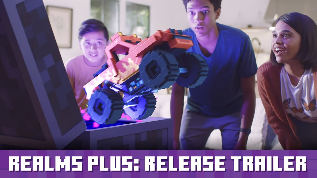 Minecraft Realms Plus: Release Trailer