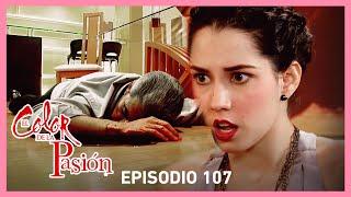 El color de la pasión: Nora asesina a Ricardo | C-107 | Tlnovelas