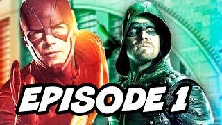 The Flash Season 4 Episode 1 Arrow Legends of Tomorrow Premiere Details