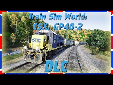 CSX GP40-2 | Train Sim World | DLC [Deutsch|HD]