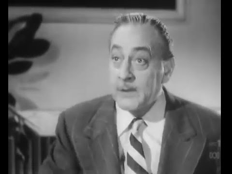 """John Barrymore recites """"To be or not to be"""""""
