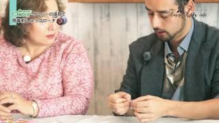 クロバーの道具で簡単刺しゅうブローチ〔洋輔のエンジョイホビーカフェ 015〕 thumbnail