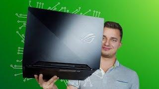 Lekki i smukły Laptop Gamingowy - Asus ROG Zephyrus S