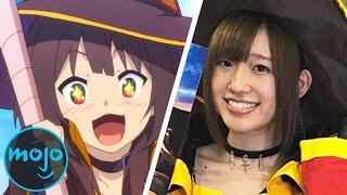 Top 10 des acteurs de la voix d'anime