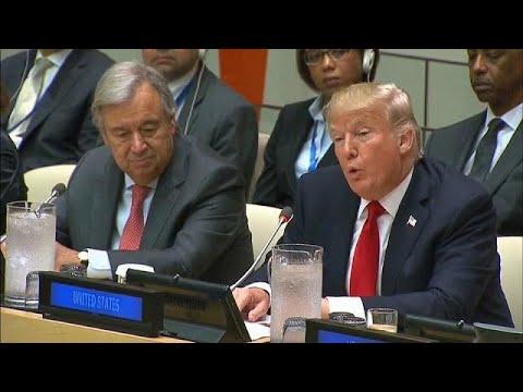 "Trump critica ""má-gestão"" e ""burocracia"" da ONU"