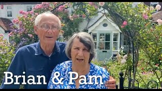 Pam and Brian