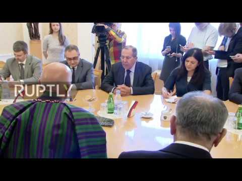 Russia: Lavrov discusses regional stability with ex-Afghan President Karzai