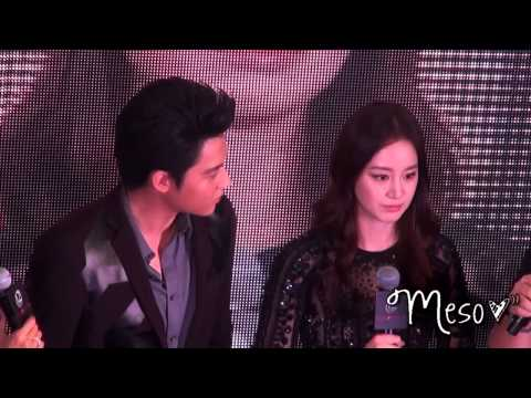 [Full] 131028 Kim Tae Hee & Mark Prin @ 12Plus Colorista Event