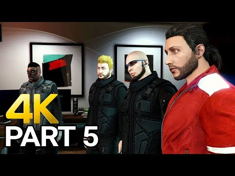 Grand Theft Auto 5 Online Gameplay Walkthrough Part 5 - GTA 5 Online PC 4K 60FPS