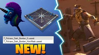 *NEW* STRAW OPS & HAY MAN SKINS & FREEZE TRAP & DARK BOMBER PICKAXE! Fortnite Battle Royale
