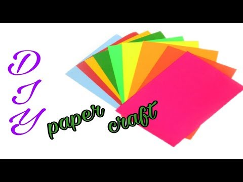 How to make simple and easy paper cutting design || Paper cutting ideas ||  poppyalley