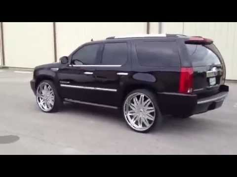 28 Inch Asanti Wheels 2007 Escalade Youtube