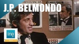 "Jean-Paul Belmondo ""L'affaire Serge Alexandre Stavisky"" - Archive INA"