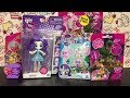 My Little Pony Blind Bags Squishy Pop Equestria Girls Rarity Minis | Toy Opening & Review