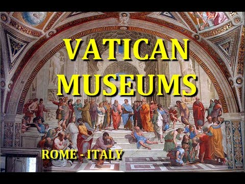 VATICAN CITY MUSEUMS TOUR - MUSEI VATICANI ROME ITALY