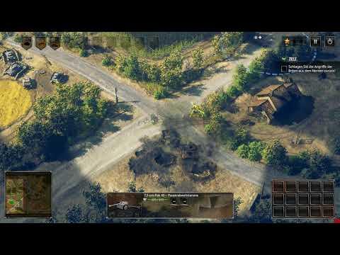 Sudden Strike 4. GamePlay.DE Deutsche Kampagne Mission. 6