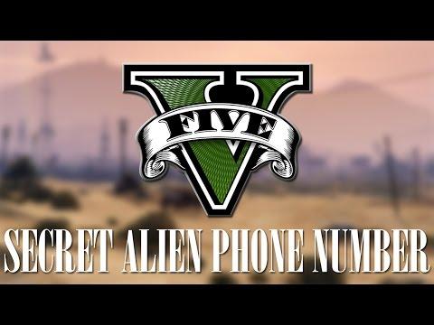 GTA V SECRET - ALIEN PHONE NUMBER