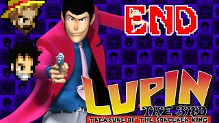 3G1U Lupin the 3rd: Treasure of the Sorcerer King, END: IT