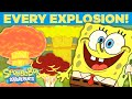 Every SpongeBob Explosion EVER! 💥 | #TBT
