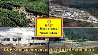 DDR Grenzübergangstelle (GüSt) Marienborn
