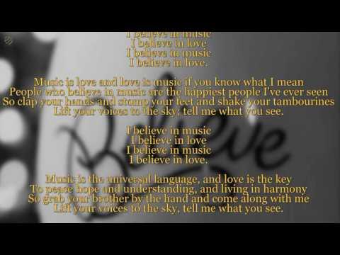 Gallery - I believe in music (Lyric video) [HQ]