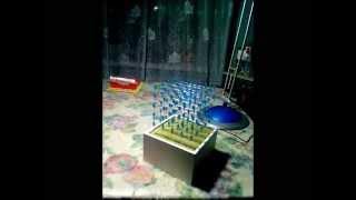 Светодиодный Led 3D куб своими руками(Представляю Вашему вниманию светодиодный куб. Делать начал год назад, сделал за несколько дней, но потом..., 2015-04-12T20:44:35.000Z)