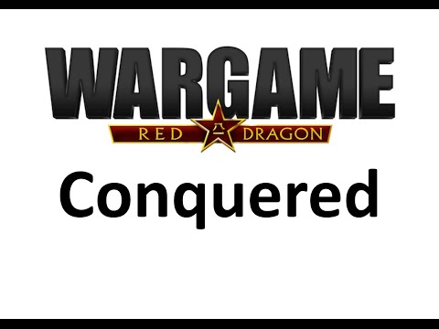 Wargame Red Dragon - Conquered