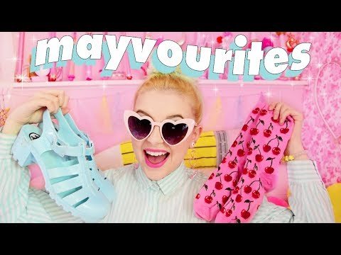 MAY FAVES 🍒✨ Summer Fashion, Lifestyle Changes and WEEB STUFF