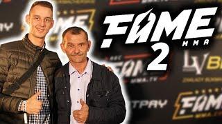 Relacja z FAME MMA 2 | ADAM I TATA