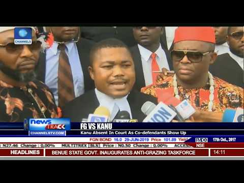 Abaribe Asks To Be Discharged As Kanu's Surety As Kanu Absents Self From Court