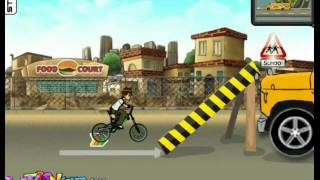 Ben 10 Street Stunt Game Ben 10/ Racing Bike Games For Kids