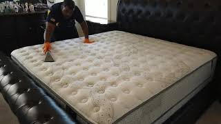 How to dry a mattress after cleaning!