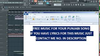FREE PUNJABI SONG MUSIC FOR YOU| Latest Punjabi Songs karaoke