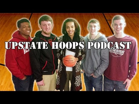 Mia Morrison & Newark Seniors In-Studio .::. Upstate Hoops Podcast